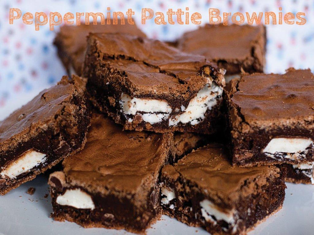 Peppermint Pattie Brownies1