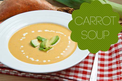Carrot Soup for the Soul! - in 17 minutes