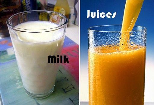 Milk-Juices