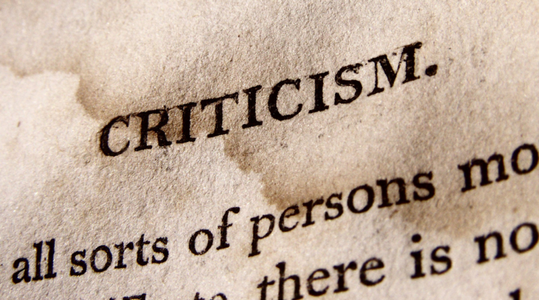 Criticism – How to Deal with different types of Criticism & live a Stress-less life