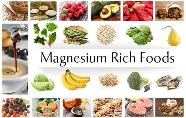 magnesium rich foods fruits vegetables