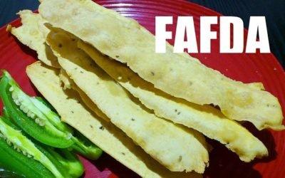 Gujarati Fafda Recipe – Learn How to make Fafda