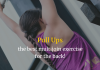 Pull ups -> the best multijoin exercise for the back!
