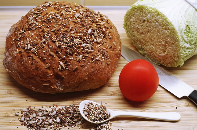 Flaxseed source of dietary fiber and nutrients