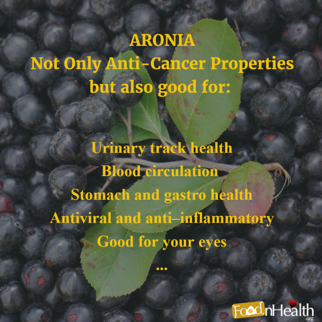 Health Benefits of Aronia Berries (Chokeberries)
