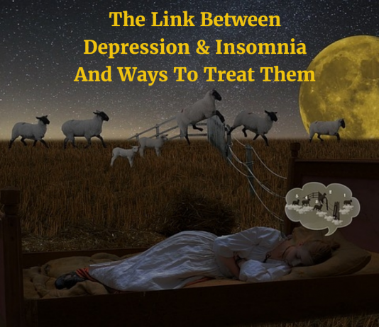 The Link Between Depression & Insomnia And Ways To Treat Them