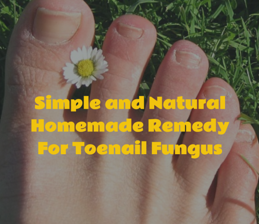 Homemade Remedy For Toenail Fungus