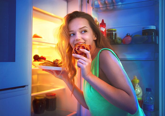 The Health Impact of Nighttime Eating