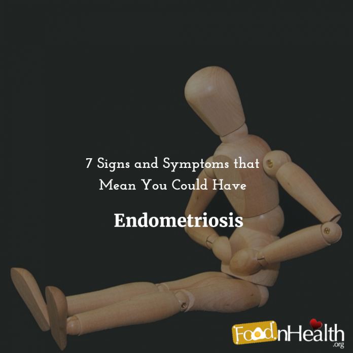 What causes endometriosis pain?