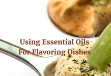 Get full organic flavour in your food with essential oils