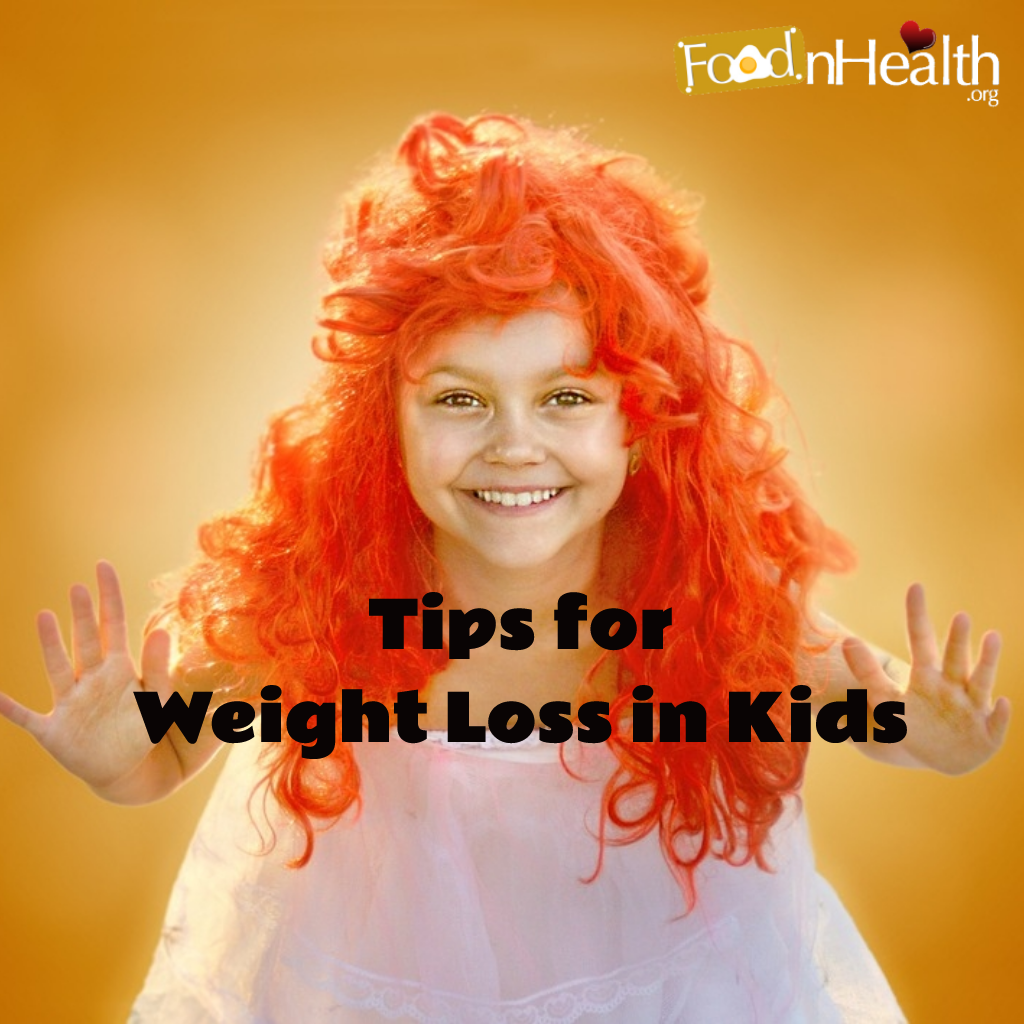 tips for children to lose weight