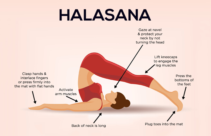 Plough Pose or Halasana