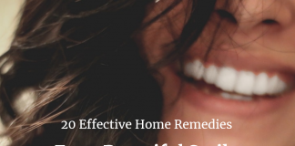 Effective Home Remedies For a Beautiful Smile