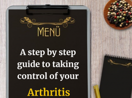 A step by step guide to taking control of your arthritis