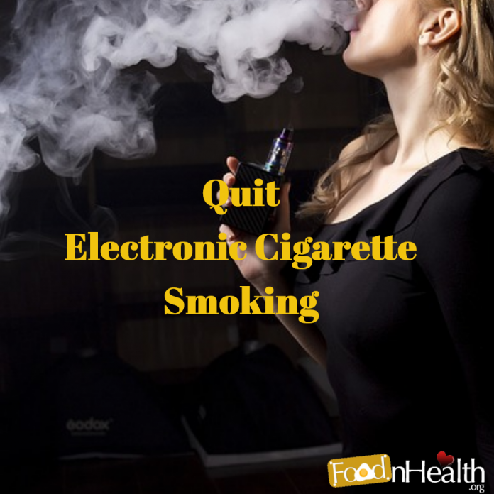 Quit Electronic Cigarette Smoking