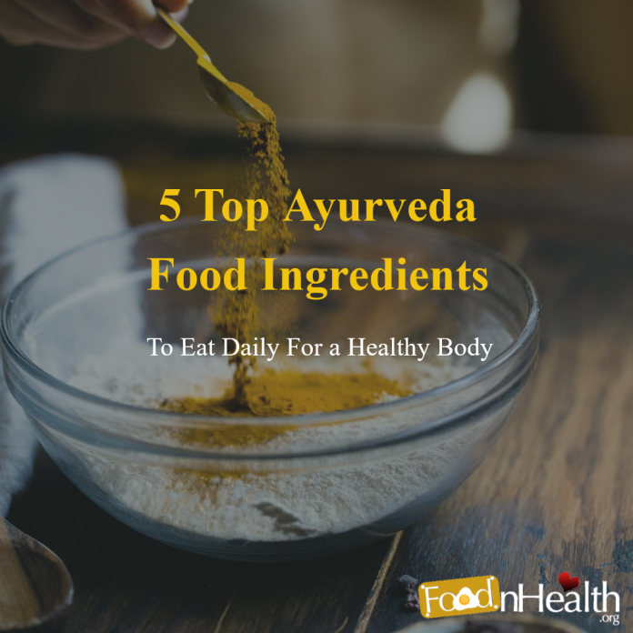 The Top 5 Healing Spices, Ayurvedic Superfoods