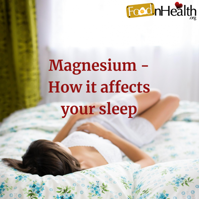 Magnesium - How it affects your sleep