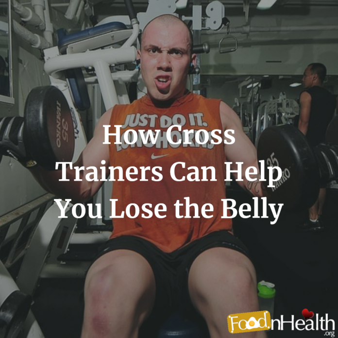 Is cross trainer effective for weight loss and removal of belly fat