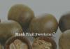 Monk Fruit Sweetener?