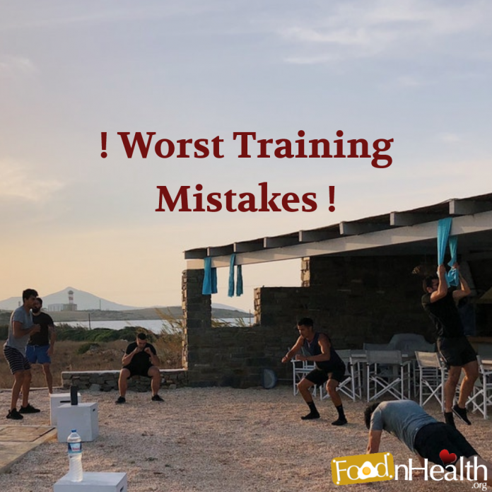 worst training mistakes