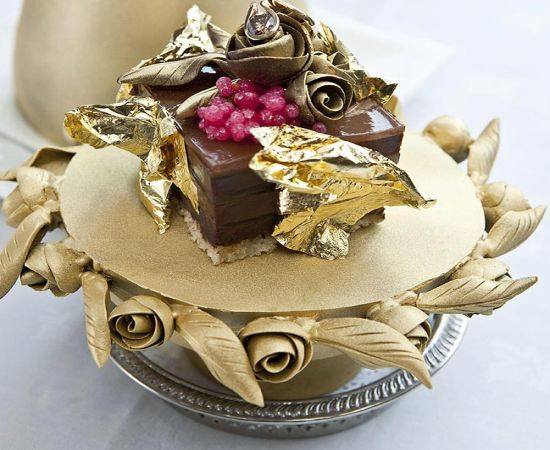 Faberge Chocolate Pudding