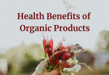 Health Benefits of Organic Products