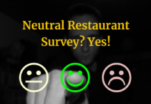 Neutral Restaurant Survey