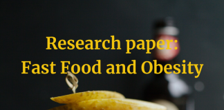 Research paper Fast Food and Obesity