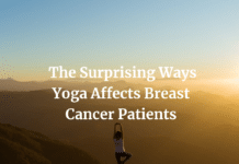 How can yoga help people with breast cancer?