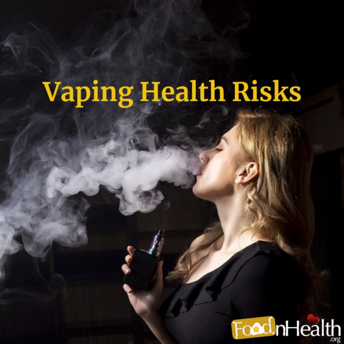 Health Risks of E-Cigarettes and Vaping