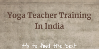 How to Choose the Best Yoga Teacher Training in India