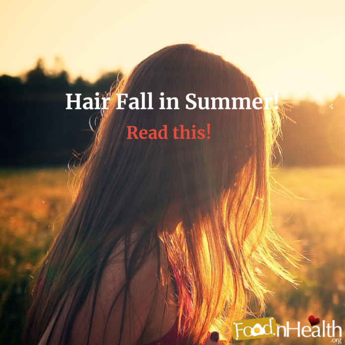 How to Control Hair Fall in Summer