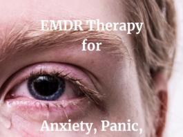 FoodnHealth.org explains the use of eye movement desensitization and reprocessing (EMDR) to treat post-traumatic stress disorder (PTSD)