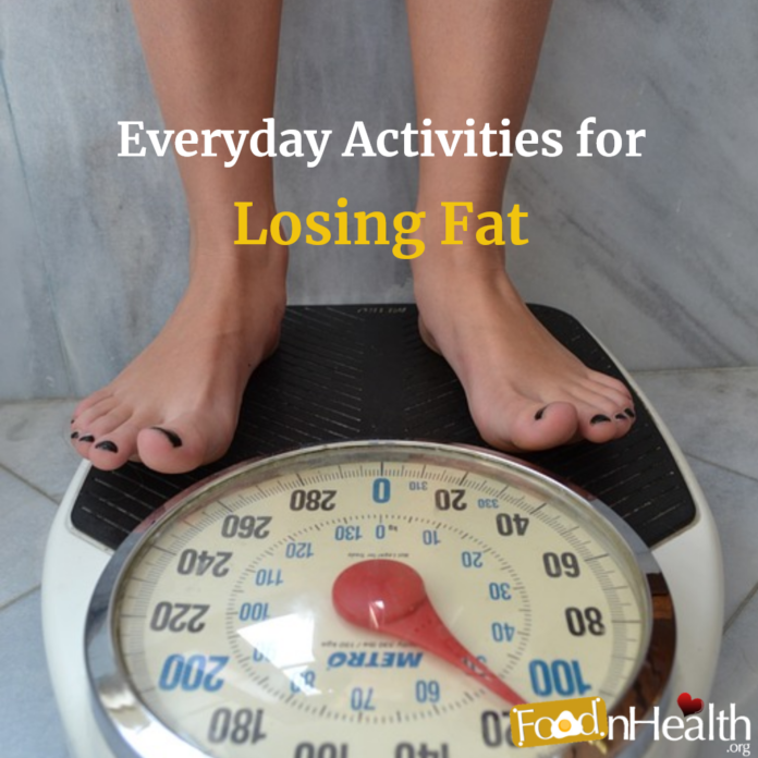 Everyday Activities for Losing Fat