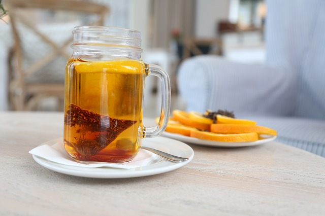 Rooibos tea is packed with healthy flavonoids