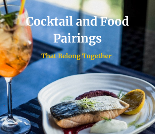 Cocktail and Food Pairings That Belong Together