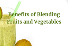 Benefits of Blending Fruits and Vegetables