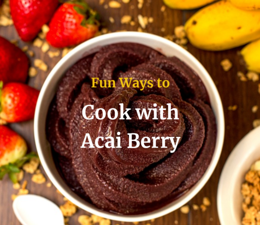 Cook with Acai Berry