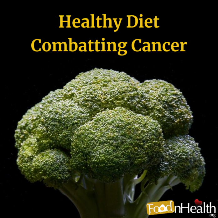 Healthy Diet Combatting Cancer