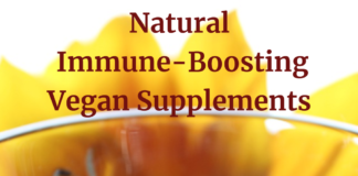 Natural Immune-Boosting Vegan Supplements