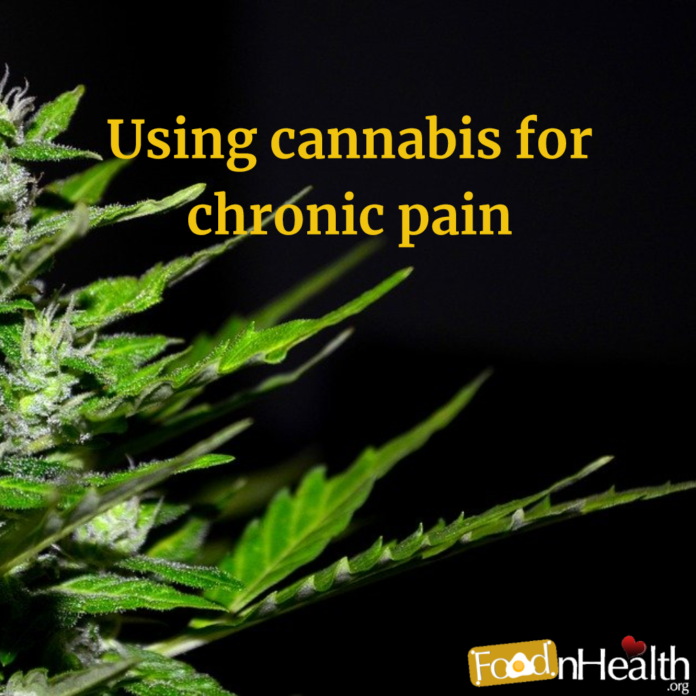 Using cannabis for chronic pain