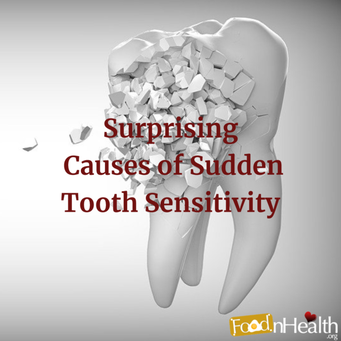 Surprising Causes of Sudden Tooth Sensitivity