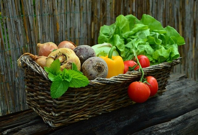 stay healthy with vegetables