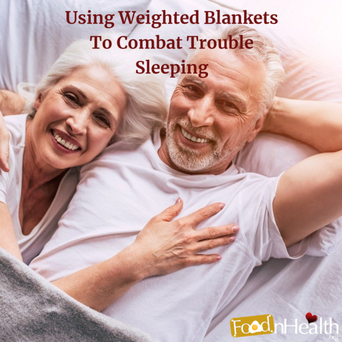 Using Weighted Blankets To Combat Trouble Sleeping
