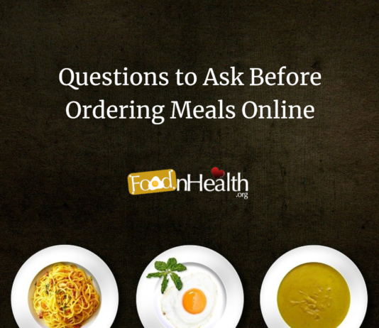 Questions to Ask Before Ordering Meals Online