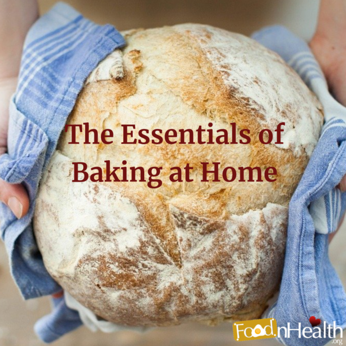 The Essentials of Baking at Home