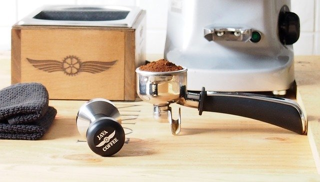 Coffee Maker with a Grinder