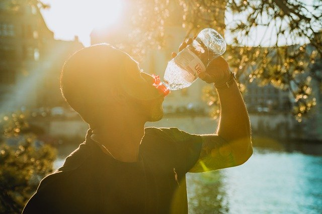 Keeping Hydrated Whilst Training